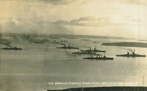 German Fleet in Scapa Flow 1918
