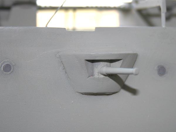 Mid ships case mate gun